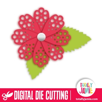 3d Flower 1 TotallyJamie SVG Cut Files Graphic Sets