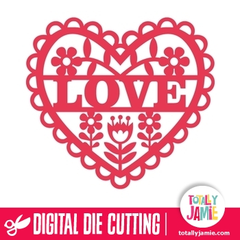 Download Retro Flowers Fretwork Heart Love - TotallyJamie: SVG Cut ...