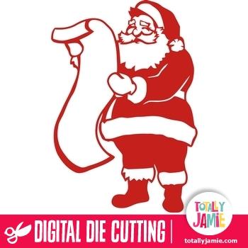 Santa List TotallyJamie SVG Cut Files Graphic Sets