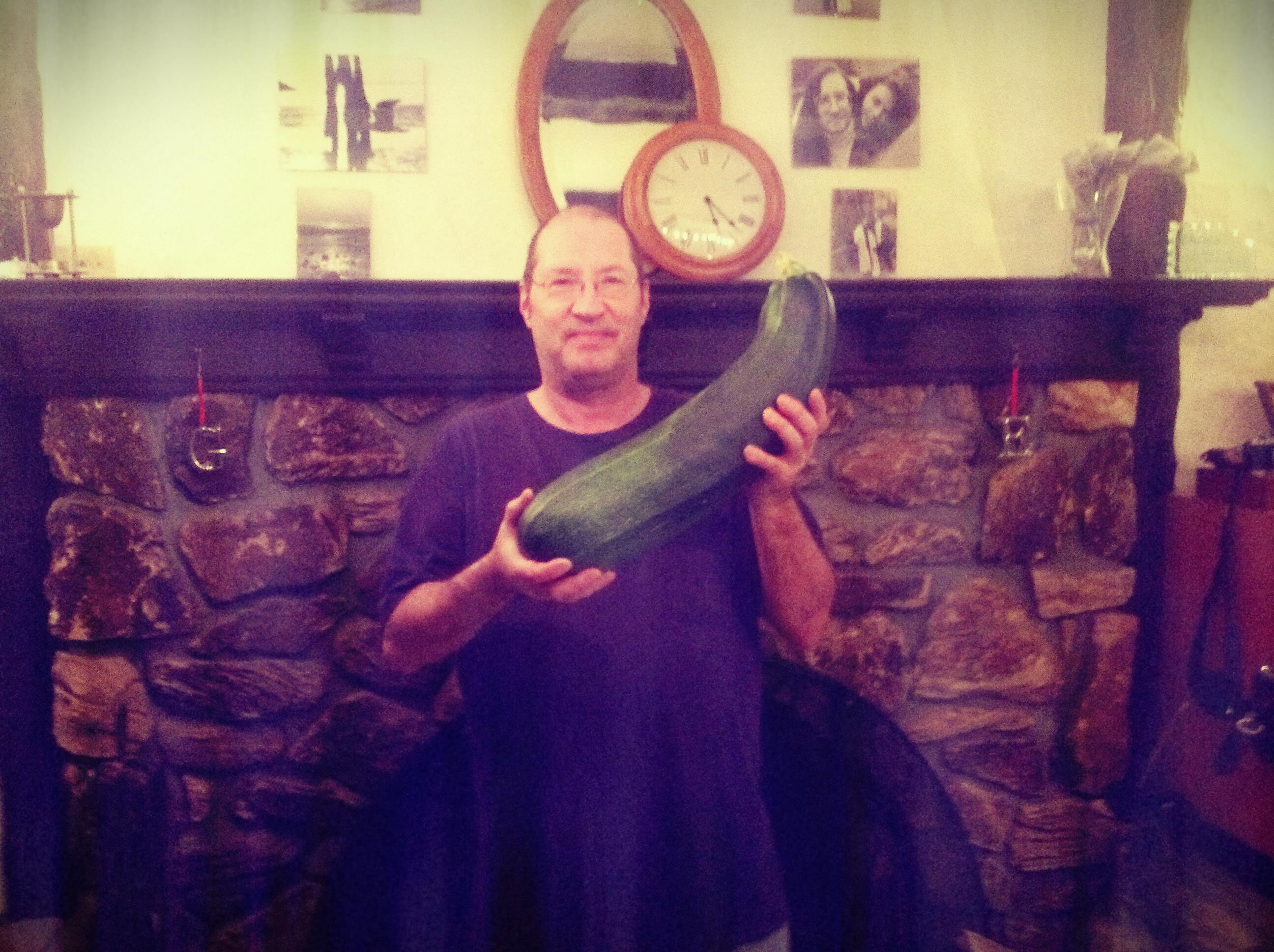 no it's NOT a euphemism!!! it's a huge zuchinni!... no really, i have a picture!!  no its not porn!! (gives up and walks away)