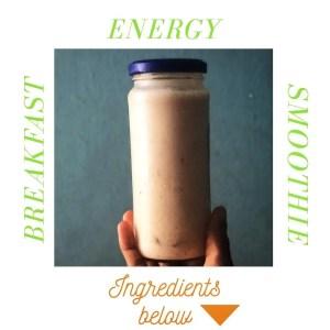 Energy Boosting Breakfast Smoothie Recipe