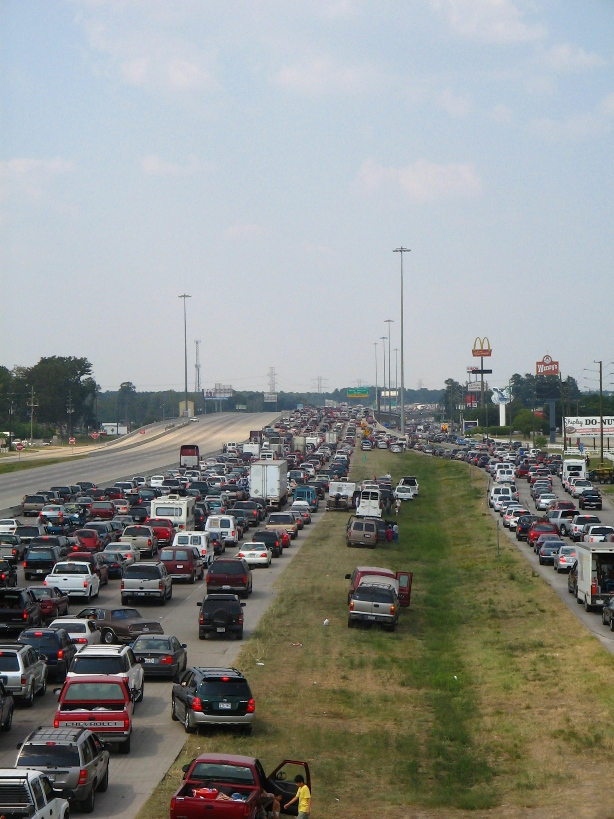 I-45_&_Louetta_Rita_Evacuation