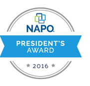 NAPO Presidents Award 2016 logo