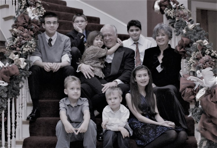 Christmas 2012, Mimi and Pops and all the grandkids