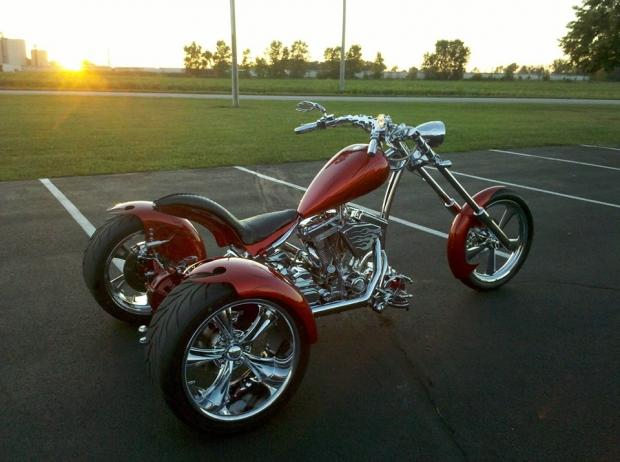 Custom Chopper Trike Trikes Totally Rad Choppers