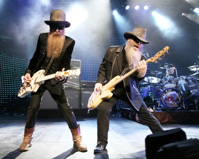 The ZZ Top (pictured) and Jeff Beck concert originally scheduled for  Sept. 7 at the St. Augustine Amphitheatre will be rescheduled due to an injury. See details in the story below. Contributed image