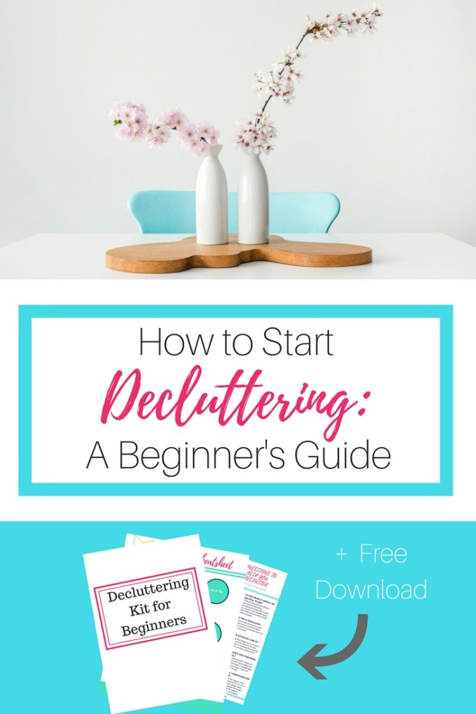 how to declutter, decluttering tips, decluttering for beginners, minimalist