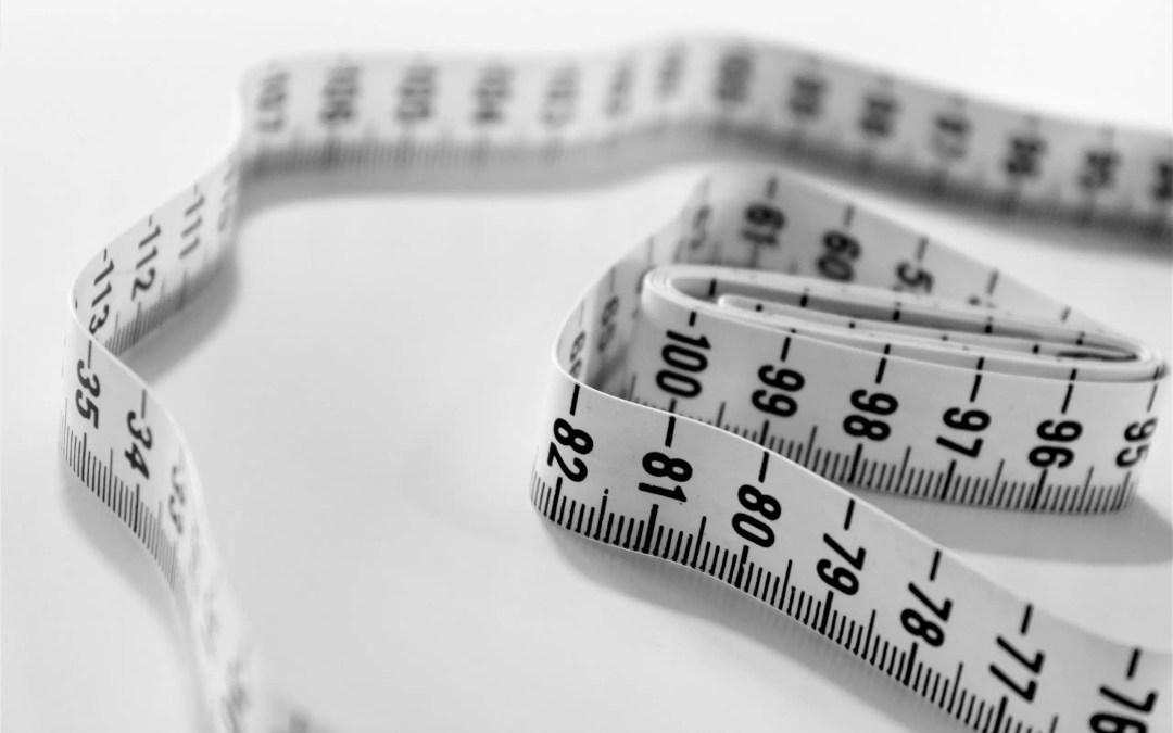 tape measure selective focus