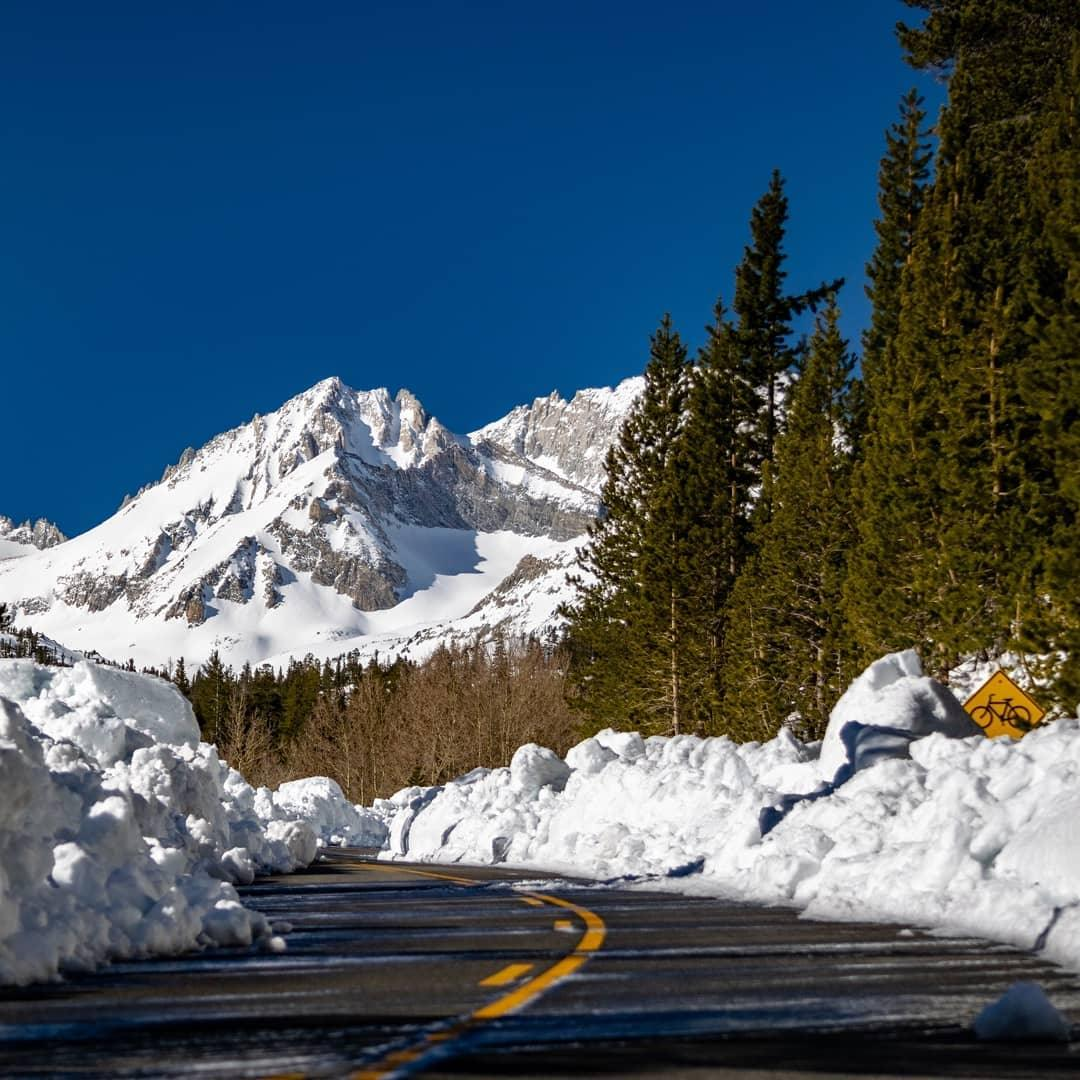 Mono County moves heaven and earth (and many thousands of tons of snow) to open the road for tomorrow's fishing opener - thanks fishers!
