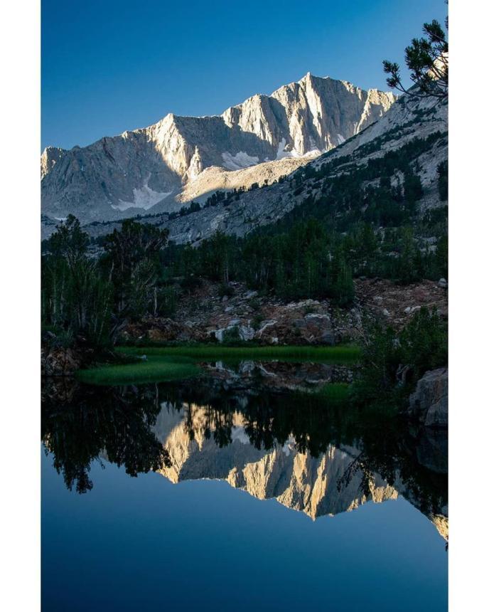 Mt Goode at Long Lake.
