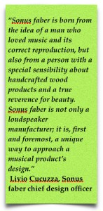 Sonus faber handcrafted loudspeakers #totallywirednz