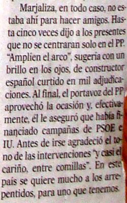 periodismo de trabuco corrupción Granados Marjaliza Leganés