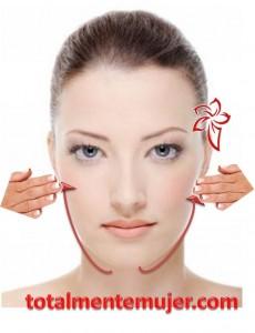 masaje contra las arrugas