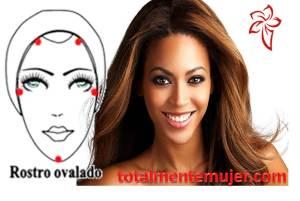 rostro ovalado Beyonce
