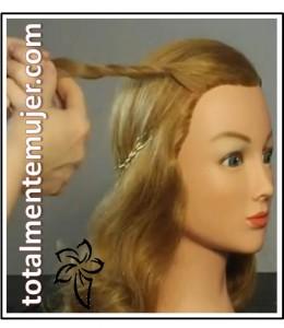 peinado de boda recogido