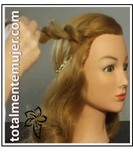 peinado de novia facil y elegante