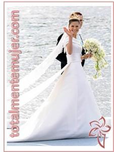vestido de novia de princesa victoria