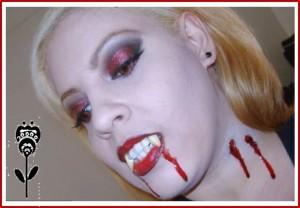 disfraz de vampira sexi