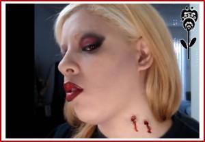 heridas falsas de halloween