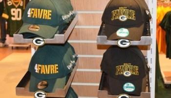 online retailer 57807 51dc1 Fans Wearing Literally Every Brett Favre Jersey Possible ...