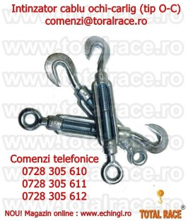 Intinzatoare cablu ochi-carlig ( tip O-C ) Total Race Intinzatoare cablu cu un ochi de prindere si un carlig Total Race