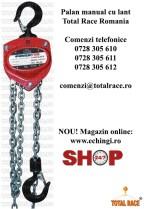 Palan manual cu lant livrare stoc Bucuresti Total Race