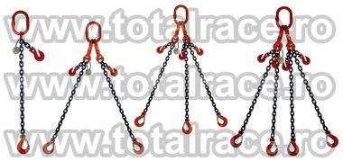 Dispozitive ridicare din lant cu carlige cu siguranta la capete