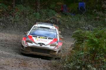 Ott Tanak/Martin Jarveoja Wins Rally Wales GB 2019