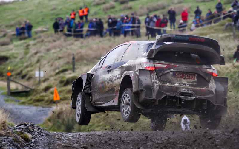 Ott Tanak Leads Wales Rally GB 2019 At The End Of Saturday