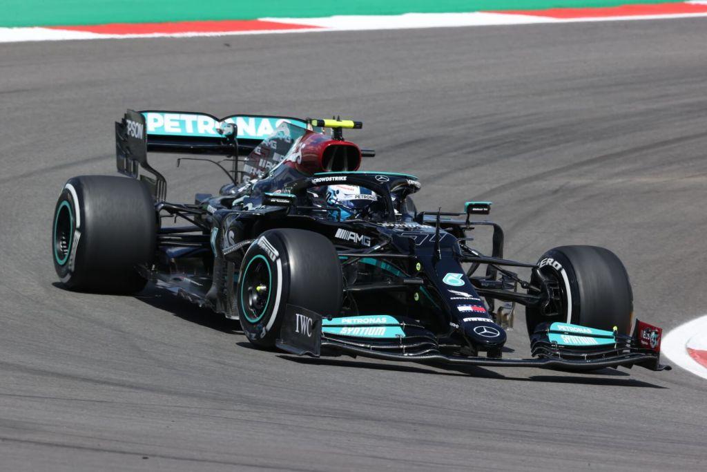 Valtteris Bottas Mercedes F1 Portuguese GP 2021 Free Practise