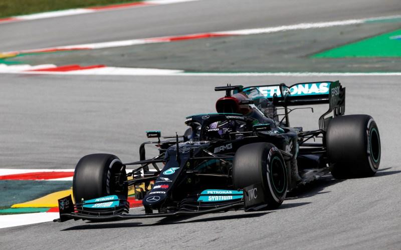Lewis Hamilton F1 Spanish GP 2021