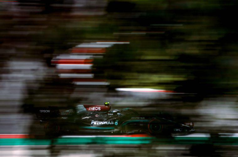 Valtteri Bottas F1 Mercedes Portugal 2021 Qualifying