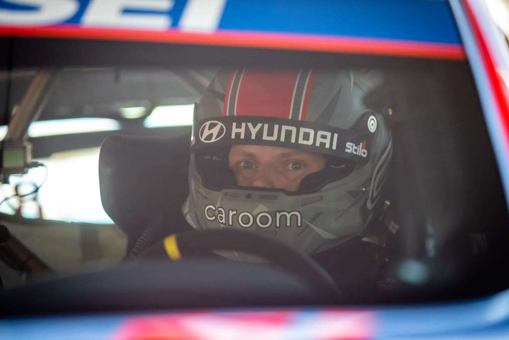 Ott Tanak Hyundai i20 Coupe WRC 2021