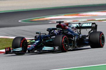 Lewis Hamilton F1 Spanish GP Race