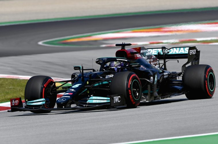 Lewis Hamilton F1 Spanish GP Race