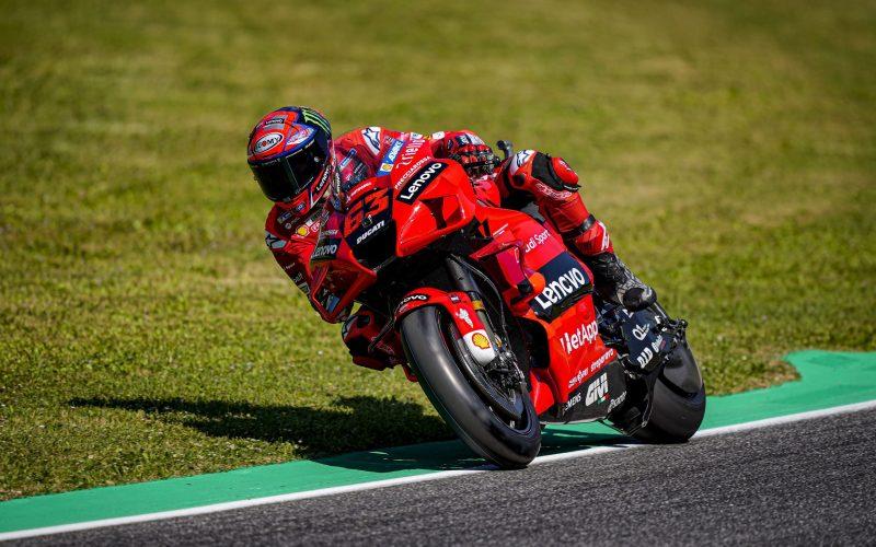 GP Ιταλίας Bagnaia FP3