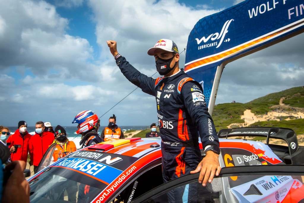 Dani Sordo Rally Italia Sardegna 2020 Winner/Hyundai i20 Coupe WRC