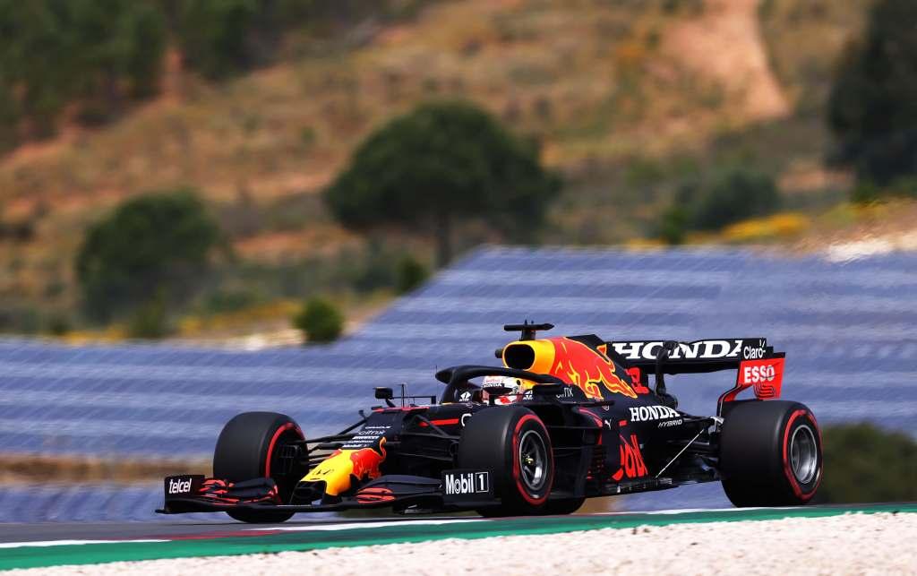 Max Verstappen F1 Red Bull Portugal 2021 Qualifying