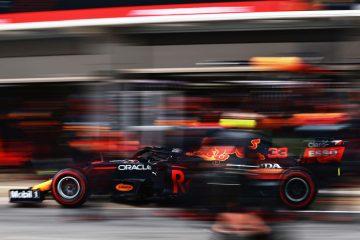 Max Verstapen Red Bull F1 Spanish GP 2021 Pit stop