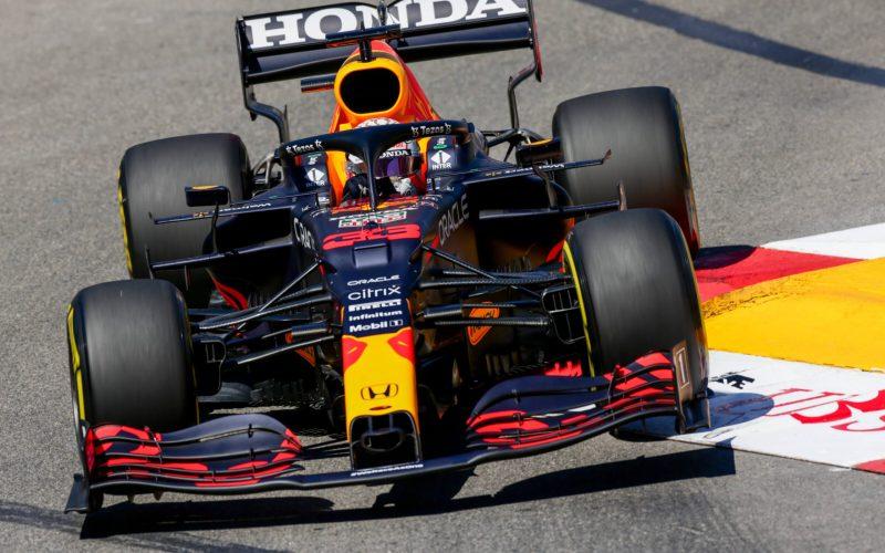 Max Verstapen Red Bull F1 Monaco GP 2021 FP2