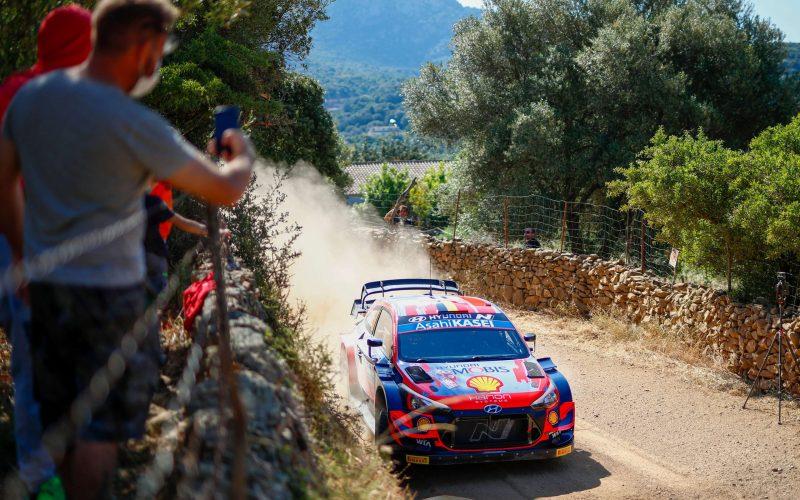 Ott Tanak Hyundau i20 Coupe WRC Rally Italia Sardegna 2021 Shakedown