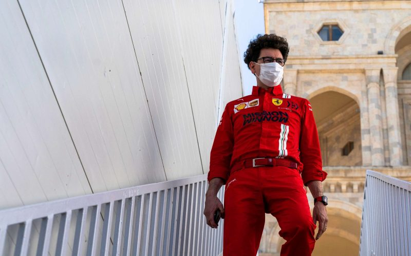 Mattia Binotto Ferrari Azerbaijan GP 2021