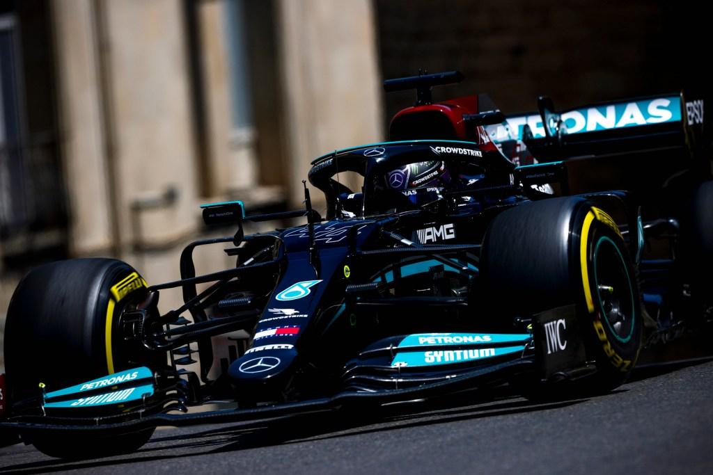 Lewis Hamilton Mercedes F1 Azerbaijan GP 2021 Q