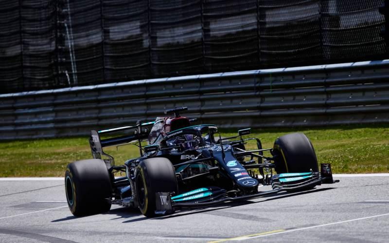 Το τετακέ του Valtteri Bottas στο pit lane του Red Bull Ring