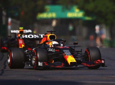 Max Verstappen F1 Red Bull Azerbaijan GP 2021 Pirelli