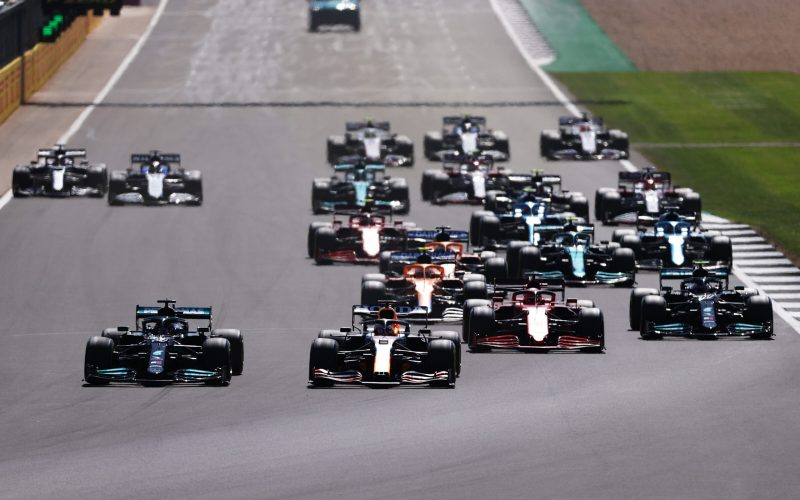 GP Βρετανίας Hamilton Verstappen
