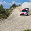Sebastien Ogier Rally Acropolis 2021 Toyota Yaris WRC Testing