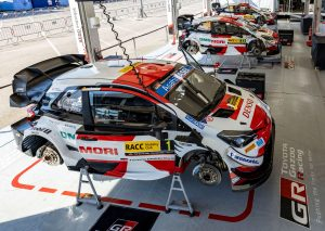 Rally Ισπανίας - Shakedown: Ogier και 1-2 για την Toyota