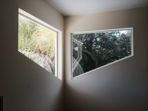 Solar film tinted before and after