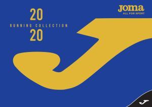 Catálogo JOMA - RUNNING 2020